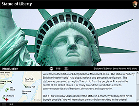 The Statue of Liberty eTour