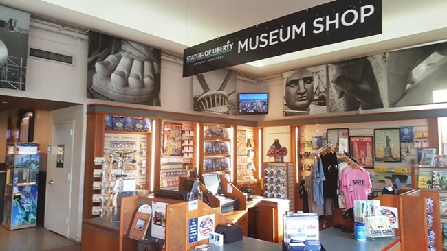 Statue of Liberty Museum Shop.