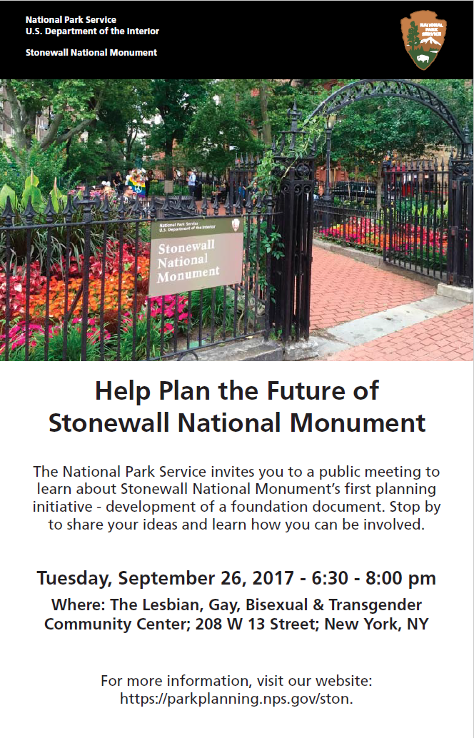 Help Plan The Future Of Stonewall