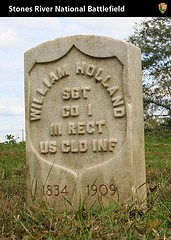 Headstone of William Holland