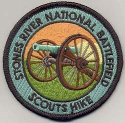 Scout Hike Patch
