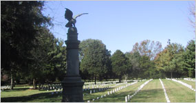 Regulars Monument in Stones River National Cemetery