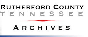 Rutherford County Archives Logo