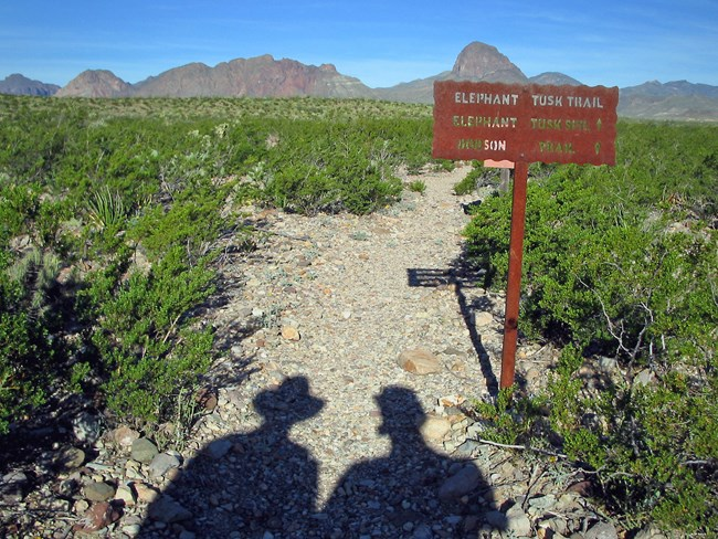 Elephant Trail in Big Bend National Park, Texas