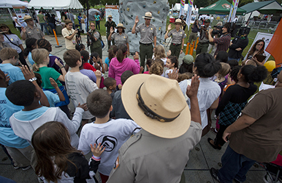President Obama Announces Every Kid In A Park Initiative Centennial U S National Park Service