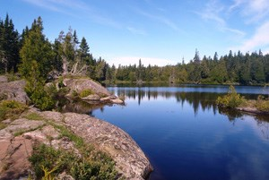 Isle Royale lake view