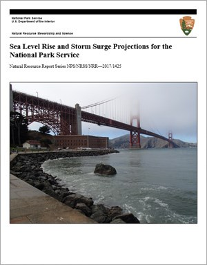 Sea level rise report cover page