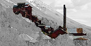 Buildings and Structures graphic for CL101 - Kennecott Mines National Historic Landmark