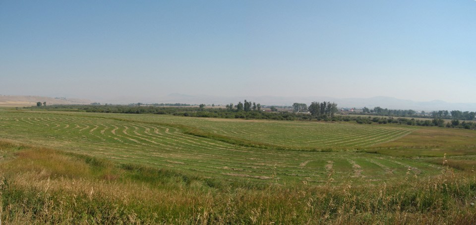 View of adjacent open land at Grant-Kohrs Ranch