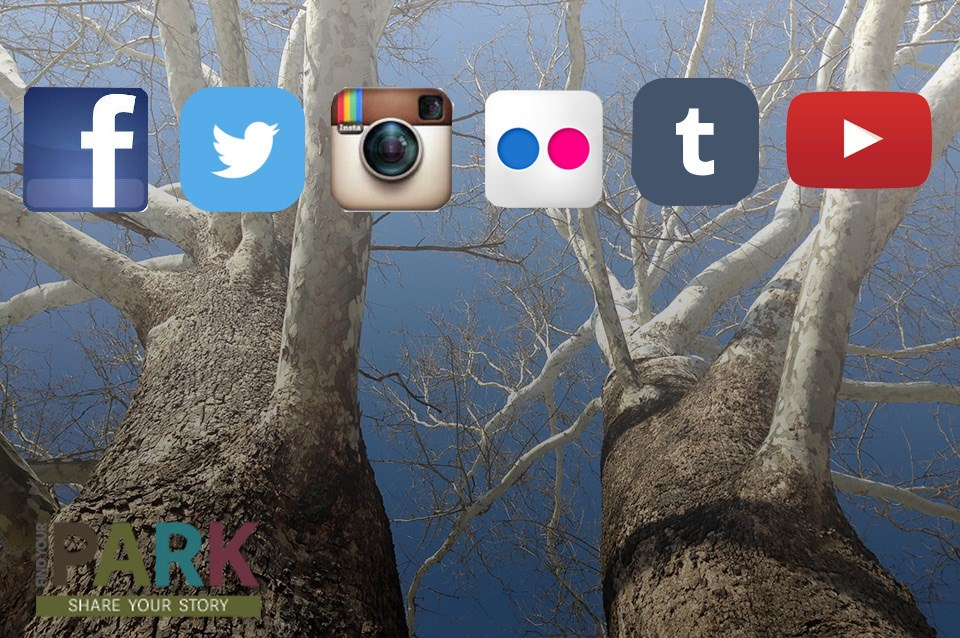 Social media links for the Park Cultural Landscapes Program