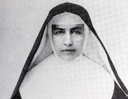 Portrait of Mother Marianne in habit