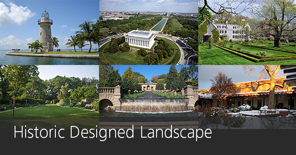 Landscape Types: Examples of historic designed landscapes