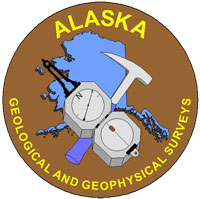 Alaska Division of Geological and Geophysical Surveys logo