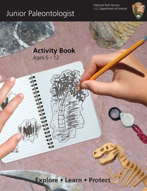 Junior Paleontologist Activity Book cover