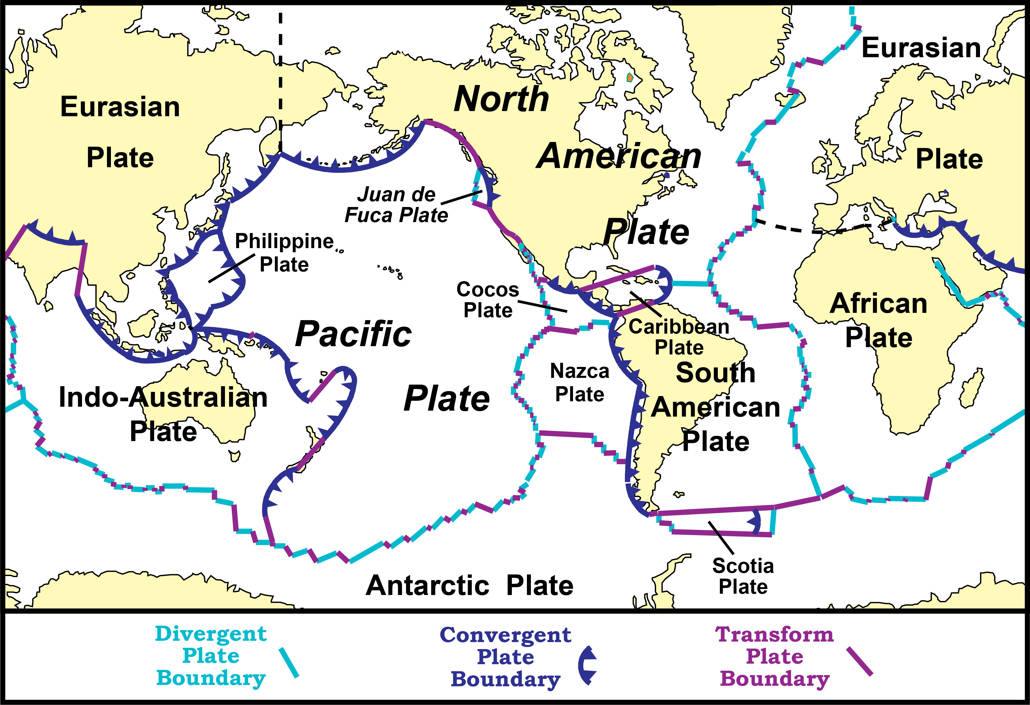 Image of: Evidence Of Plate Motions Geology U S National Park Service