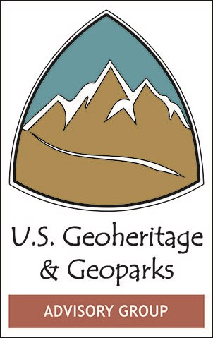 us geoheritage and geoparks advisory group logo