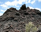 Sunset Crater volcanic rock