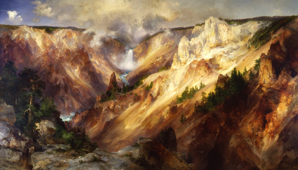 Thomas Moran's Grand Canyon of the Yellowstone