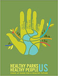 healthy parks healthy people logo