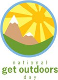 national get outdoors day logo
