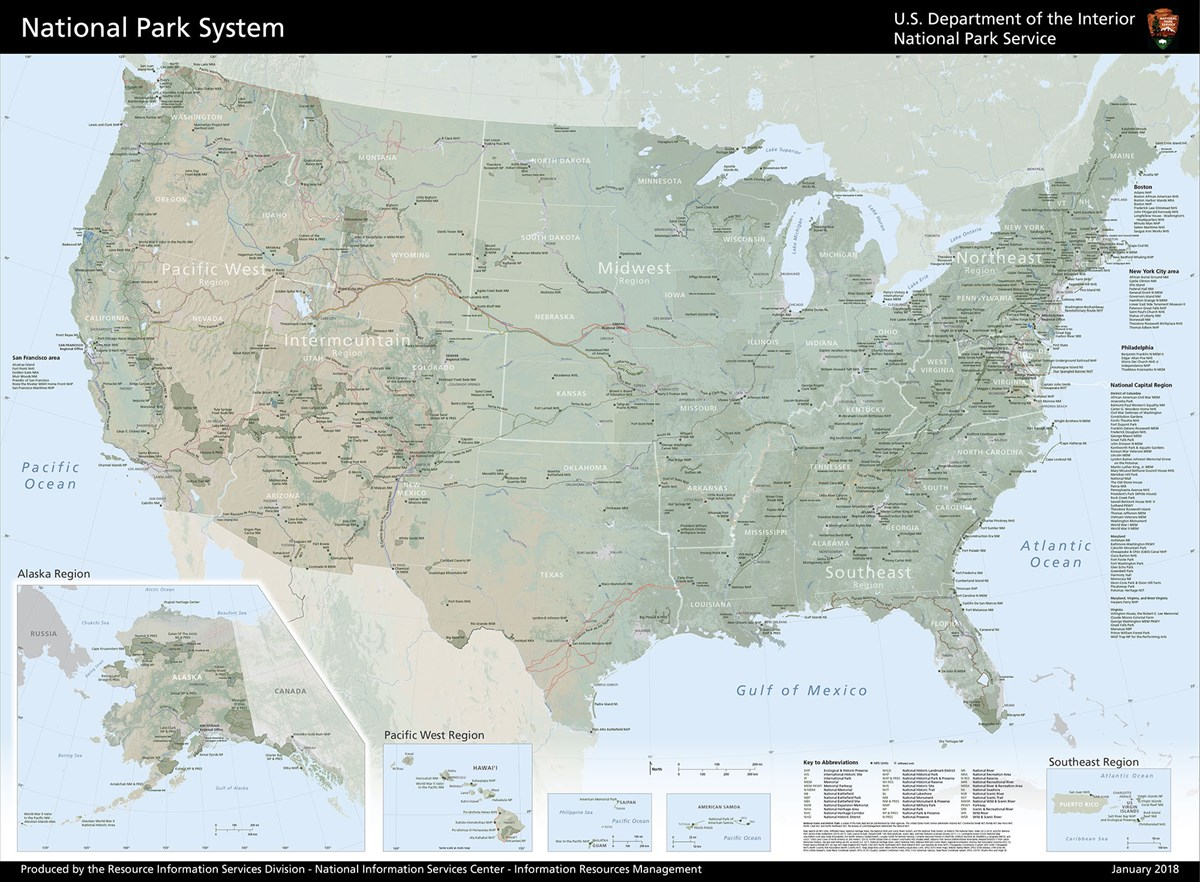 Maps - GIS, Cartography & Mapping (U.S. National Park Service)