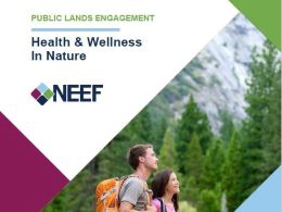 Public Lands Engagement: Health & Wellness in Nature