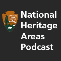 National Heritage Areas Podcast with National Park Service logo