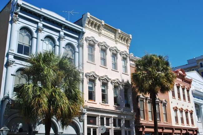Row buildings in Charleston
