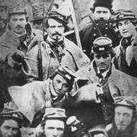 Photo of Confederate soldiers