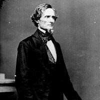 Photo of Confederate President Jefferson Davis
