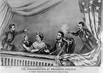 Image of the Assassination of President Lincoln