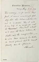 Lincoln Letter on election
