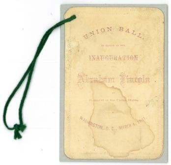 Inauguration Ball Program