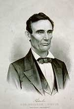 Photo of Candidate Abraham Lincoln