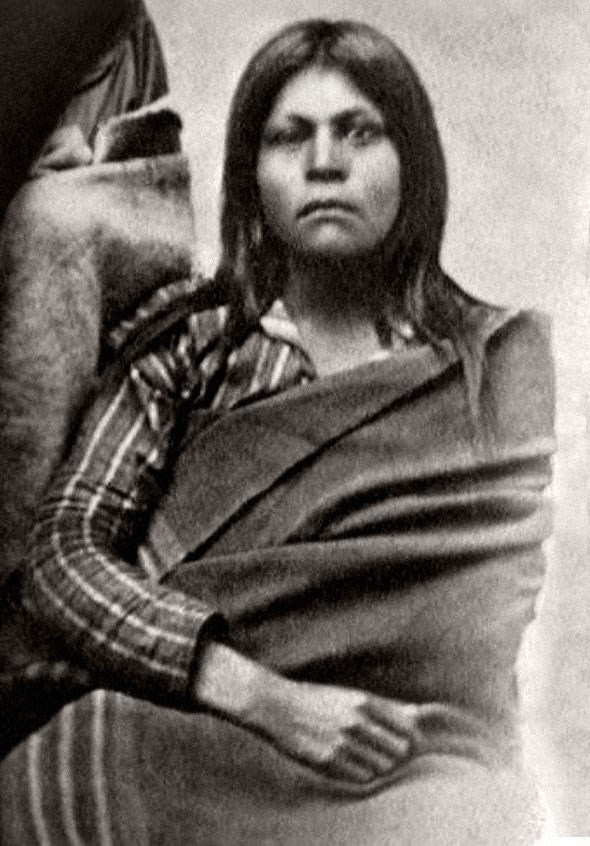 Historic photo of American Indian woman