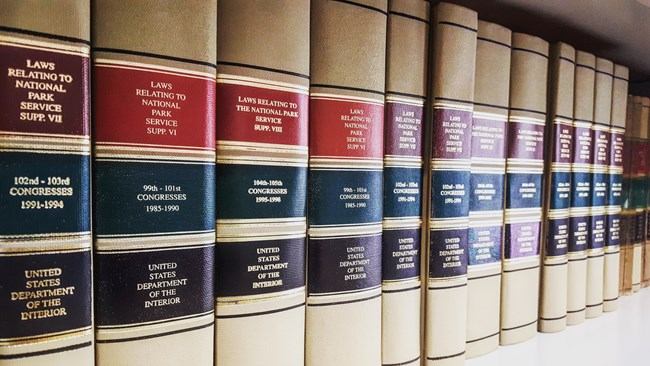 National Park Service Law Compilations