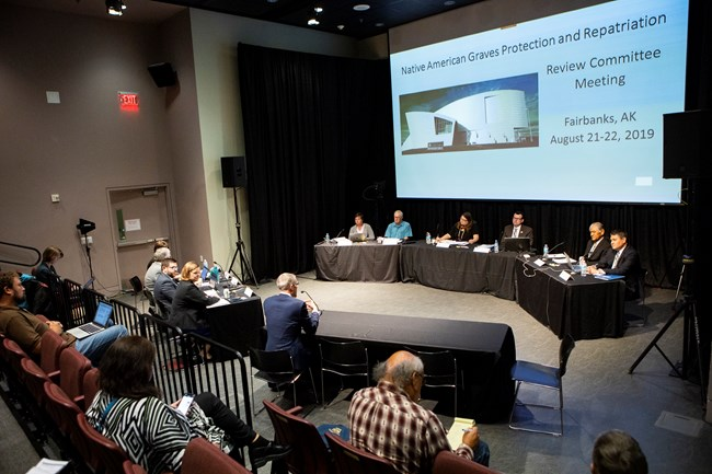 The 65th NAGPRA Review Committee Meeting was held in Fairbanks, AK, in August 2019.