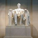 Statue of Abraham Lincoln in Lincoln Memorial