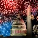 The Willard Intercontinental, 4th of July, Fireworks Schedule