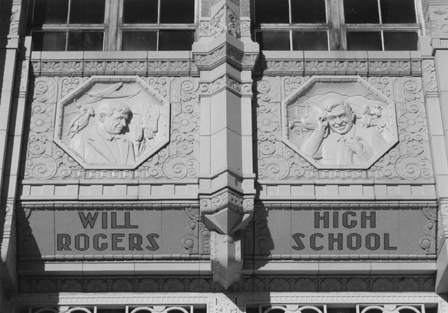 Decorative Detail image of Will Rogers