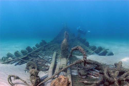 underwater remains of Australasia