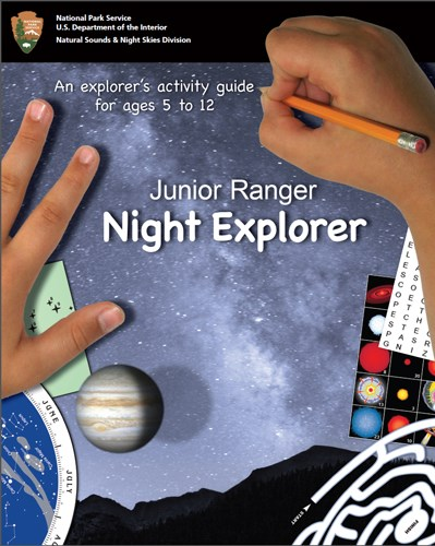 Junior Ranger Night Explorer activity guide for ages 5 to 12