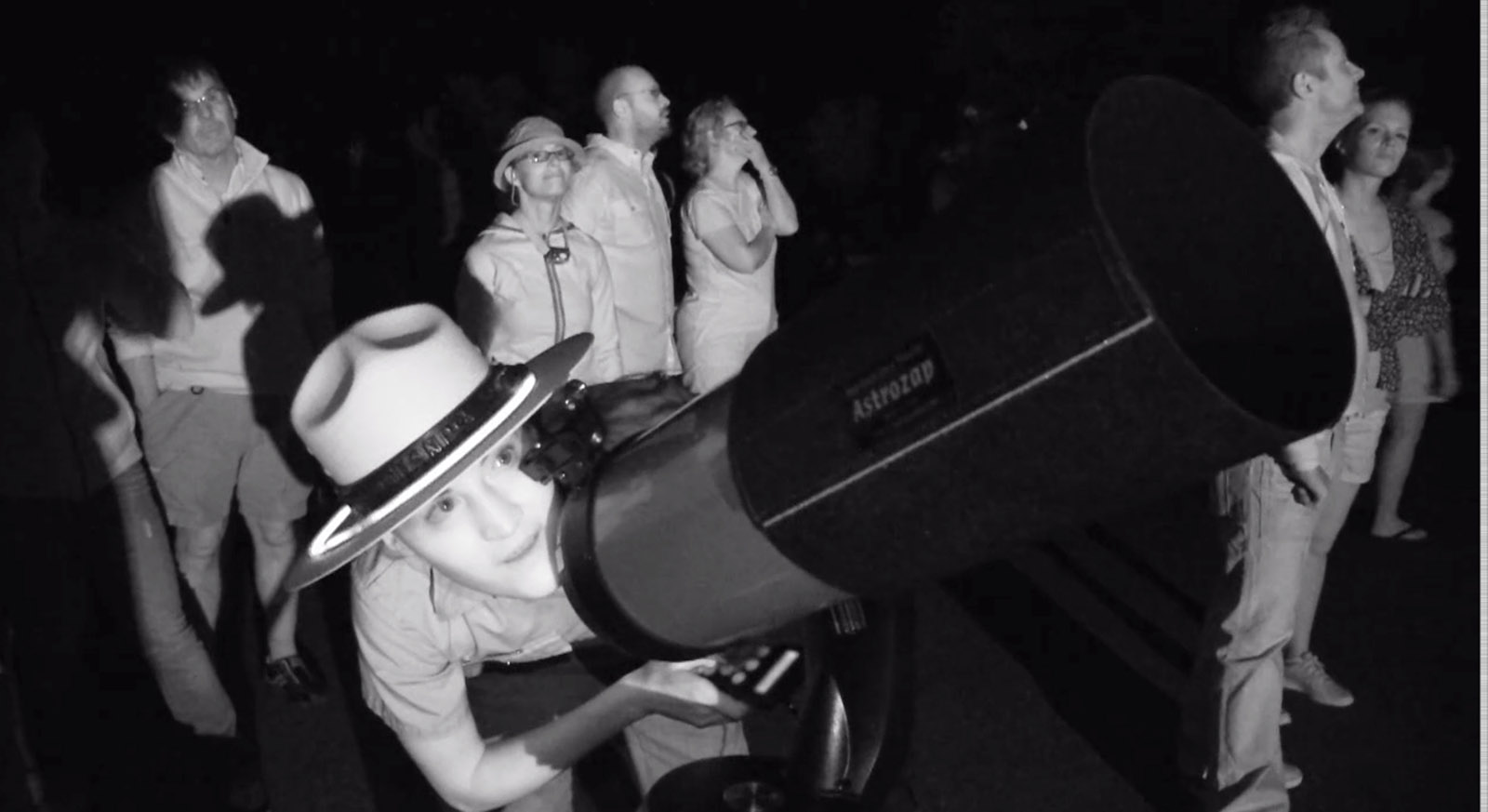 In some parks, stargazing is the most popular ranger-led activity.