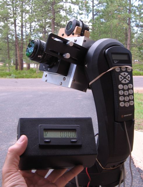 A CCD calibrated camera is used by NPS scientists to inventory all sky brightness