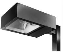 Shielded or full cut-off fixtures, such as this, direct all light downward