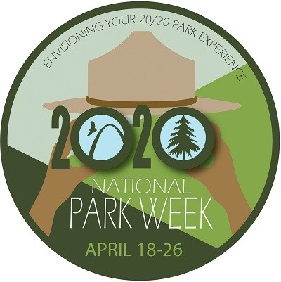 National Park Week 2020 logo