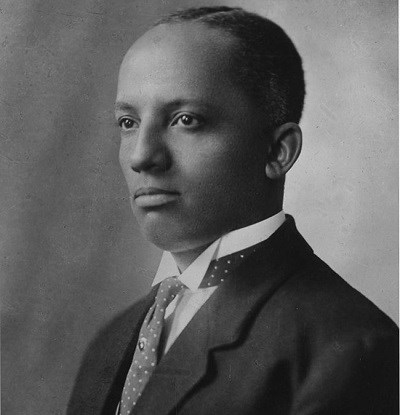 Historical photo of Dr. Carter G. Woodson