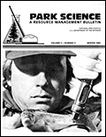 Cover of Park Science 5(2)—Winter 1985