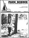Cover of Park Science 6(4)—Summer 1986