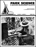 Cover of Park Science 7(3)—Spring 1987
